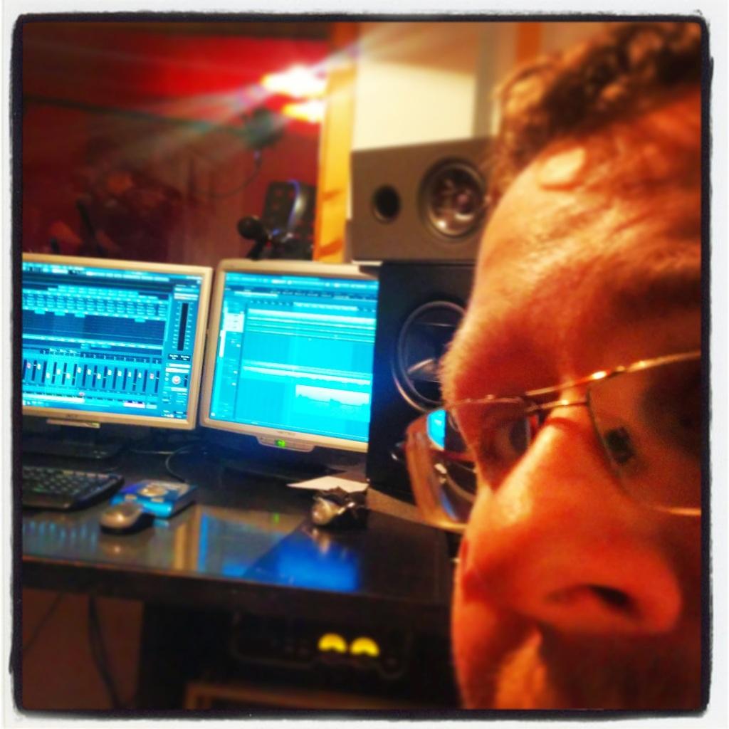 Daniel bei Authentic Audio in Hof